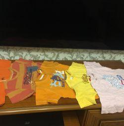 Tricouri pentru copii de 2-3 ani