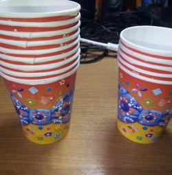 Disposable cups for the holiday