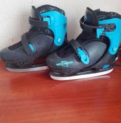 Sliding skates