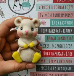 Mouse rat 2020 handmade soap