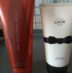 Shampoo gel, lotion, for him and her