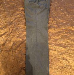 Брюки, офисные брюки со стрелками, р-р 44, Mexx