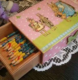 Pencil case - box - box, box for pencils