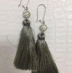 Earrings tassels new
