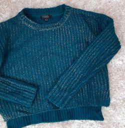 Укороченный свитер размер 42 44