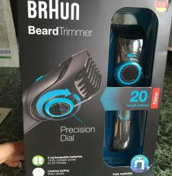 Тример для бороди і вусів BRAUN