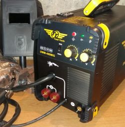 Automatic welding semiautomatic device 2v1 total tools DWM-400MIG