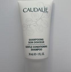 Мягкий шампунь-уход для волос Caudalie 30 мл
