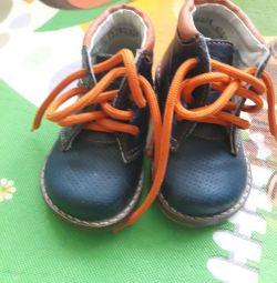 Μπότες δέρματος