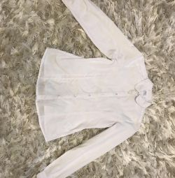 White shirts for the girl 140-146