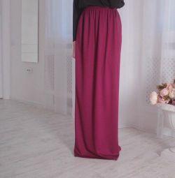 Η φούστα είναι στο πάτωμα!
