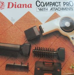 Hair dryer with nozzles NEW!