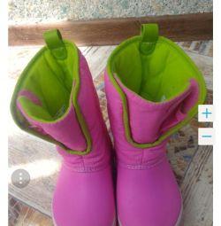 Selling boots crochet hooks Crocs Crocs C9