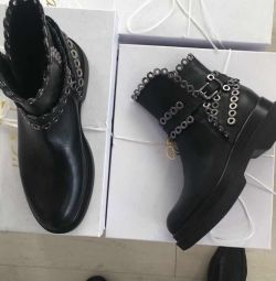 Boots New Lestrosa Italy leather size 39 on pl