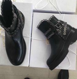 Μπότες Νέο Lestrosa Ιταλία μέγεθος δέρματος 39 στο pl
