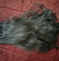 Elastik bantta saç