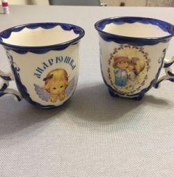 Чашка детская Гжель