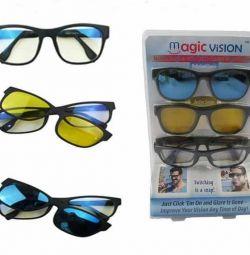 Προστατευτικά γυαλιά 3 σε 1. Πλήρες σετ