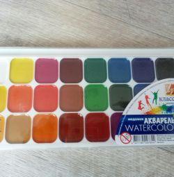 Watercolor 24 colors