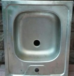 NEW SINK IN THE KITCHEN