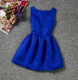 Nou rochie albastră