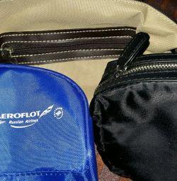 Yeni kozmetik çantaları L occitane, Aeroflot Hepsi yeni!