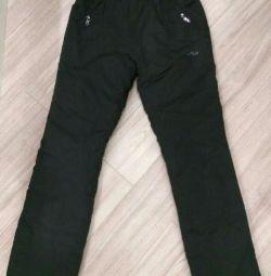 Штани (штани) болоневой зимові нові