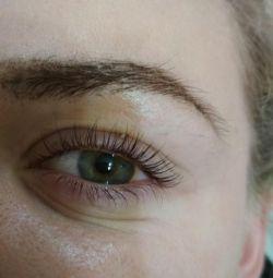 Lamination Botox Eyelash