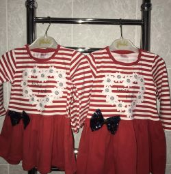 Dresses for twins