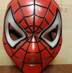Mask of spiderman