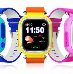 Детские часы Q80