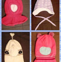 Winter hats. Size 52-54