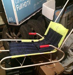 Second-hand folding sledges