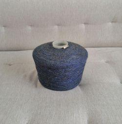 Бабина пряжі 2,25 кг (нитки, котушка)