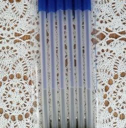Έξτρα μακρύ δίχρωμο στυλό