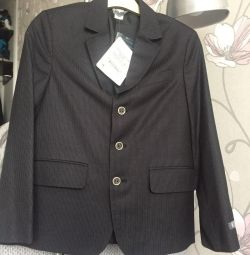 Jacket for the boy (new) 134-140