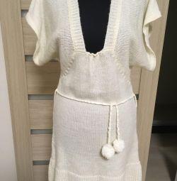 Тeплая туніка-плаття, нова