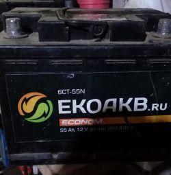 Аккумулятор 55 А/Ч