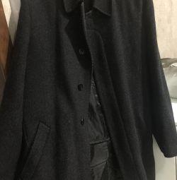 Пальто чоловіче на зростання 178-182см, з підкладкою