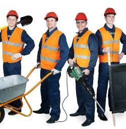 Tamirciler, taşıyıcılar, yardımcı işçiler
