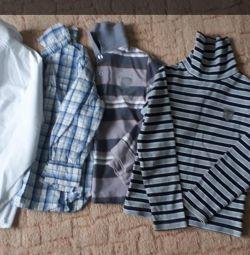 Her şey için gömlek.
