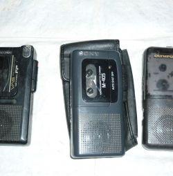 Sony / panasonic / olympus kaset kaydedici