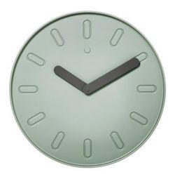 Wall clock, green, large. 35 cm. Sweden.