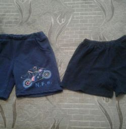 Shorts for 2 years