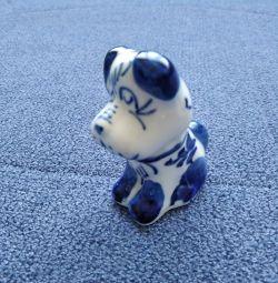 Dog. Ceramics.