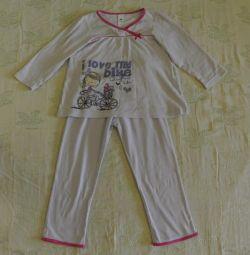 Pajamas for the girl
