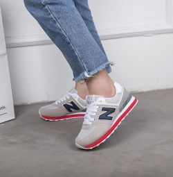 New balance, silver / Red 🤩 38- 43 р