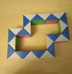 Rubik's Snake toy puzzle