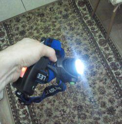 Lantern on powerful light-emitting diodes