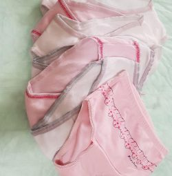 Panties for children 1,5-2 years, 7 pieces. Price for all